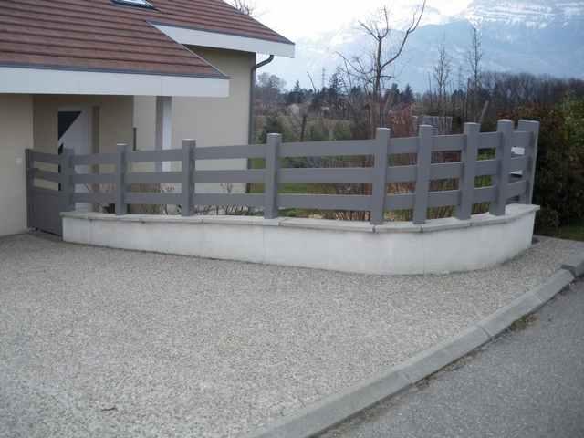 Fabrication pose cl tures trav es grenoble alproconcept - Europe cloture materiaux ...