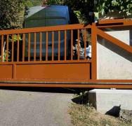 422 – portail coulissant autoportant